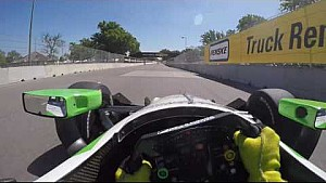 #INDYCAR In-Car Theater: Visor Cam with Conor Daly at Belle Isle