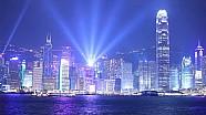 Così la F.E sulle strade di Hong Kong