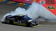 Stewart beats Hamlin in classic finish