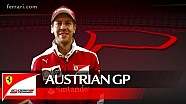 The Austrian GP with Sebastian Vettel - Scuderia Ferrari 2016