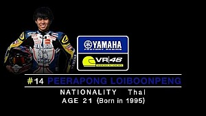 Yamaha VR46 Master Camp - Interview to Peerapong Loiboonpeng