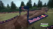 2016 Washougal Motocross track map