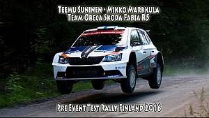 Teemu Suninen - Mikko Markkula, Team Oreca Skoda Fabia R5 - PET Rally Finland 2016