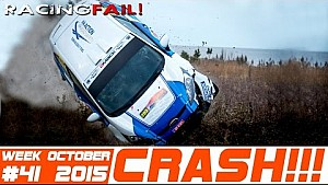 Racing and Rally Crash Compilation Week 41 October 2015