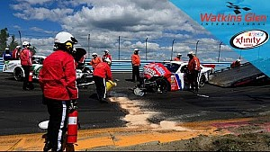 Red flag out after multi-car wreck at Watkins Glen