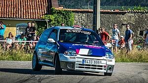 Onboard Alejandro G. Mantecón - Pablo Pacheco    Rallysprint de Miengo 2016