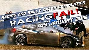 Racing and Rally Crash Compilation Week 04 January 2016