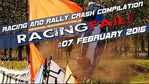 Racing and Rally Crash Compilation Week 07 February 2016