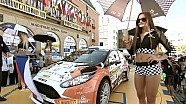 FIA ERC - 46 BARUM RALLY - Beauty at Start Ceremony