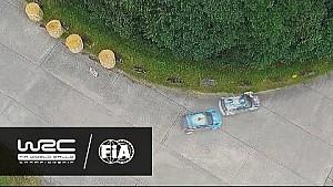 Rallye Deutschland 2016: AERIAL ANALYSIS Ogier vs. Østberg