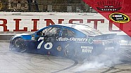 Classic burnout for Truex on throwback weekend