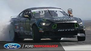 Vaughn Gittin Jr. Describes Drifting in his Ford Mustang | Formula Drift | Ford Performance