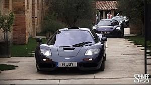 McLarens everywere! F1, P1s, 675LTs - The Next Adventure Starts