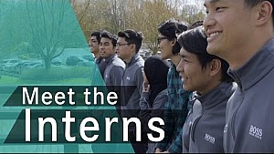Petronas Interns in Brackley:
