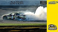 Harvick charges to Kansas win, Round of 8