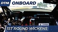 1st Round Onboard: Wickens - DTM Hockenheim Final 2016