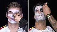 Daniel Ricciardo y Max Verstappen Día de los Muertos