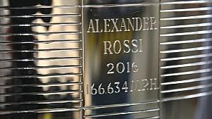 Borg Warner trophy: Will Behrends and Alexander Rossi