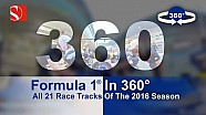 2016. 21 Races. 21 Tracks. F1 in 360 Degrees - Sauber F1 Team