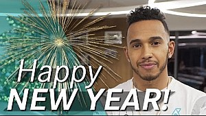 Lewis Hamilton's New Year message for you!