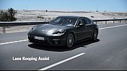 The new Panamera – Lane Keeping Assist