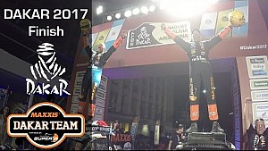 Dakar 2017 finale and 2 buggies on podium for Coronel
