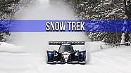 Hypercar im Schnee