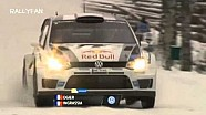 2013 WRC Sweden Rally Day 3 Highlights