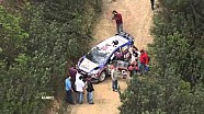 Crash @ WRC Rally de Portugal 2013: Mads Østberg