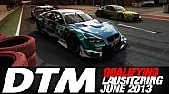 DTM - Lausitzring 2013 - Qualifying (Re-Live)