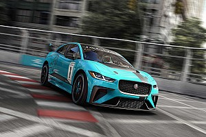 フォーミュラE 速報ニュース ジャガー初の電気自動車『I-PACE』による選手権発足。FEと併催へ