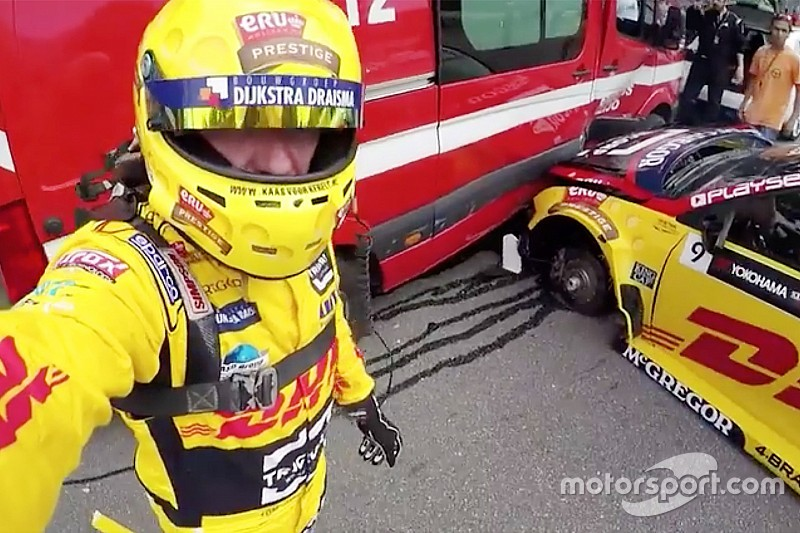 WTCC-Unfall von Tom Coronel in Vila Real mit Aufprall bei 25 g
