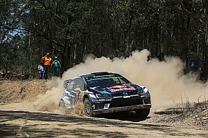 WRC Leg report Australia WRC: Mikkelsen extends lead as Ogier and Paddon lose time