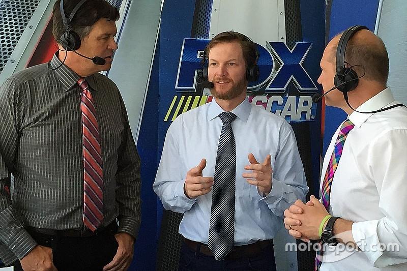 """Dale Earnhardt Jr. estará en la cabina de TV para el """"Clash at Daytona"""""""