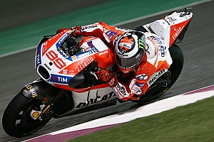 MotoGP Breaking news Defiant Lorenzo says front row start possible from Q1