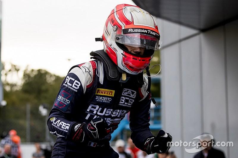 Sprint Race F2 Italia: Ghiotto raih kemenangan, Gelael kembali cetak poin