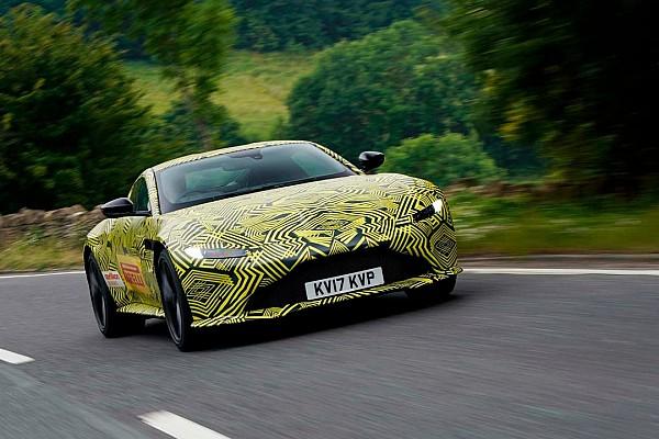 Auto Actualités Max Verstappen teste la nouvelle Aston Martin Vantage!
