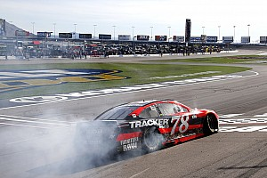 NASCAR Cup Interview Truex on Vegas victory: