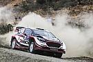 WRC Evans acabó el primer día del Rally de Argentina en el liderato