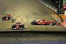 Bildergalerie: F1-Crash mit Vettel, Verstappen, Räikkönen in Singapur