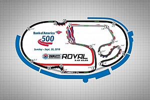 NASCAR Cup Breaking news Goodyear to test three backstretch chicanes at Charlotte roval