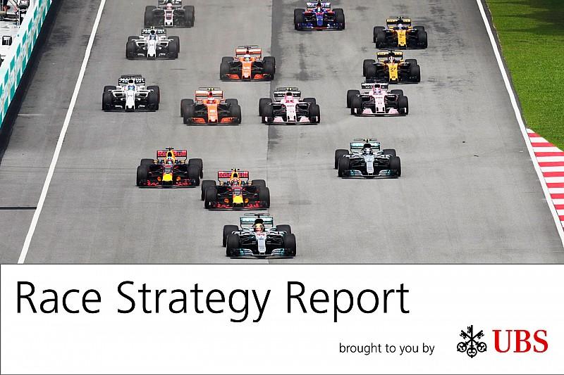 Report strategie: la Mercedes ha usato Bottas per frenare Vettel