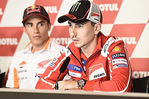 """MotoGP Noticias de última hora Lorenzo: """"Si yo no puedo ser campeón, me encantaría que lo fuera Dovizioso"""""""