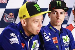 MotoGP Новость Виньялес не обиделся на Росси из-за инцидента в квалификации
