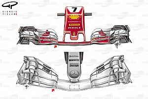 Formel 1 Analyse F1-Technik: Das Entwicklungsrennen Ferrari vs. Mercedes in Österreich