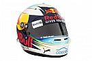 Daniel Ricciardo présente son casque 2017