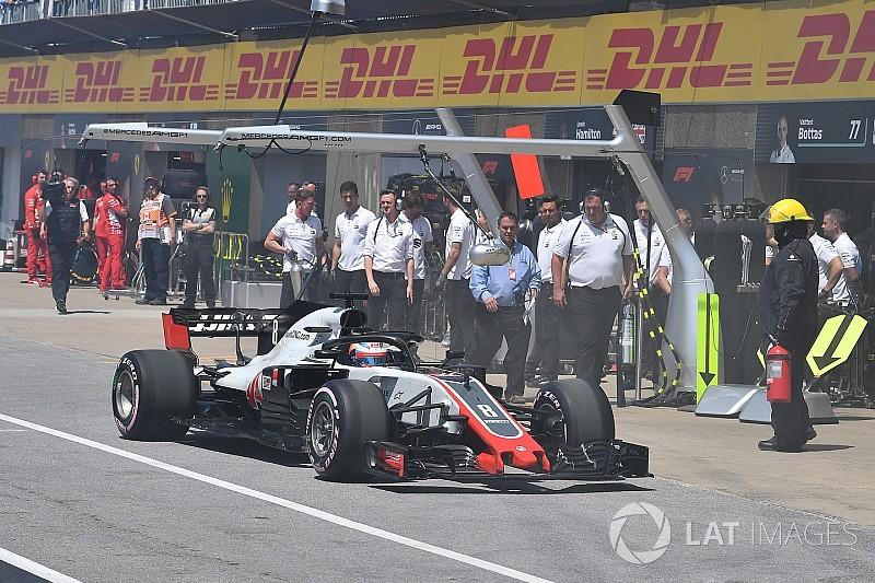Двигун Грожана не зазнав пошкоджень у кваліфікації на Гран Прі Канади