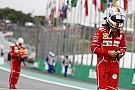 Vettel reconoce por qué perdió la pole en Brasil: