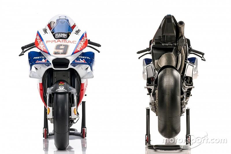La Ducati officielle de Pramac, pas forcément utile à un rookie