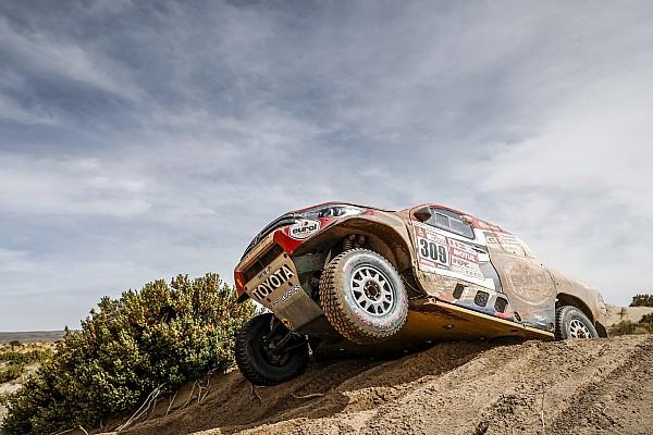 Dakar 2018, Stage 11: Ten Brinke quickest for Toyota